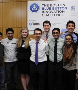 Tufts Medstart -The Boston Blue Button Innovation Challenge